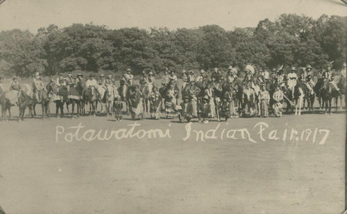 Pottawatomie Indian fair - Page
