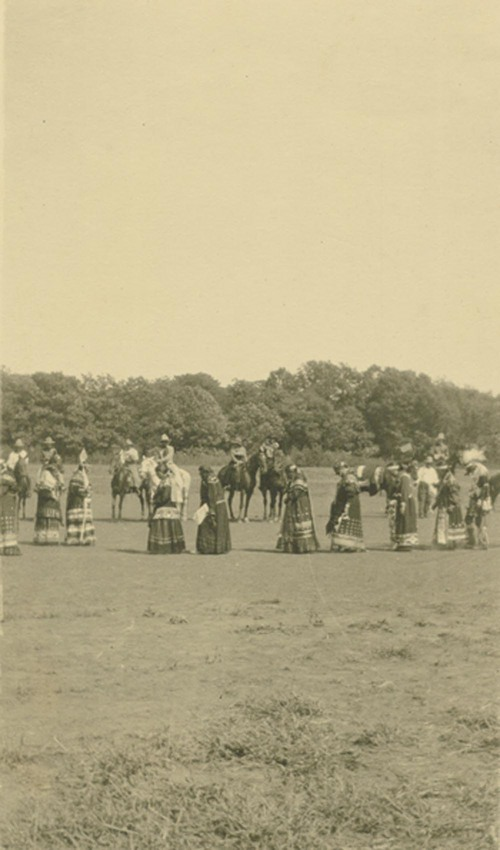 "Pottawatomie Indian dance ""Shah-no-goh"" - Page"