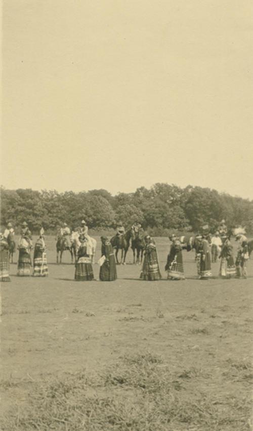 "Pottawatomie Indian dance ""Shah-no-goh"" - Page"