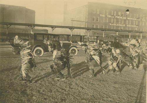 Pottawatomie Indian dancers - Page