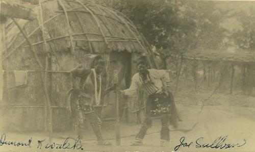 Pottawatomie bark house dwelling - Page