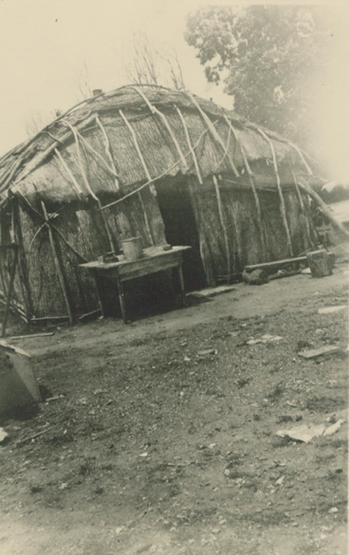 Pottawatomie Indian dwelling - Page