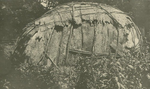 Pottawatomie bark house - Page
