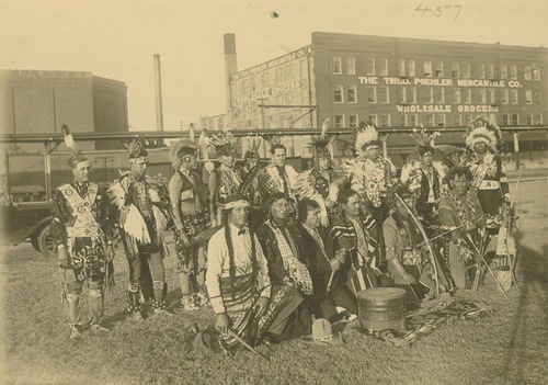 Pottawatomie dancers in Topeka, Kansas - Page