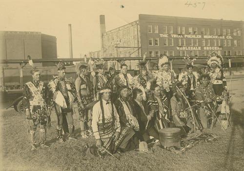 Pottawatomie dancers in Topeka, Kansas - Page