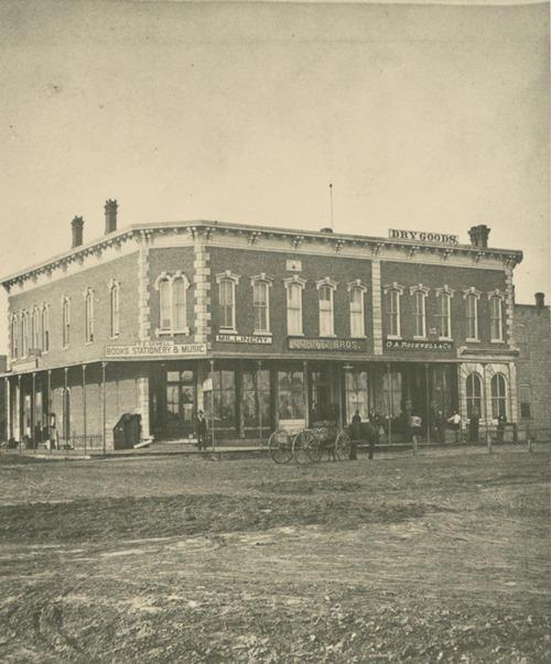 Street scene, Abilene, Kansas - Page