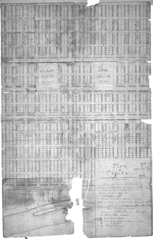 Topeka town lots map - Page
