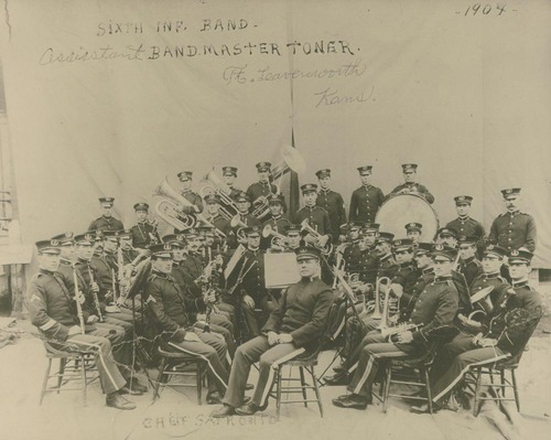 6th Infantry Band, Ft. Leavenworth, Kansas - Page