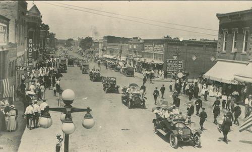 Parade in Neodesha, Kansas - Page