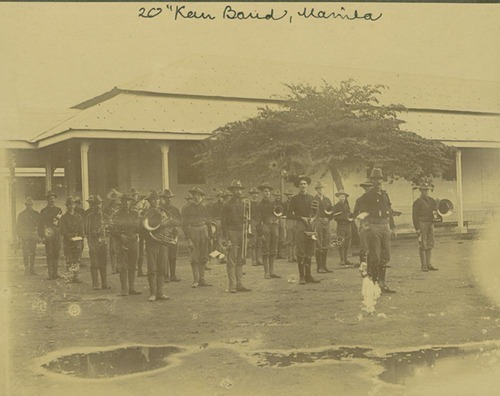 20th Kansas Regiment Band, Manila, Philippines - Page