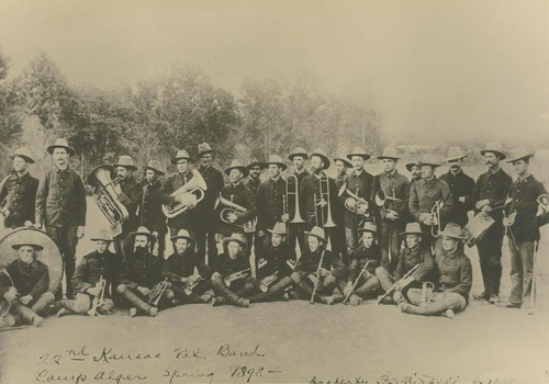 22nd Kansas volunteer band, Camp Alger, Virginia - Page