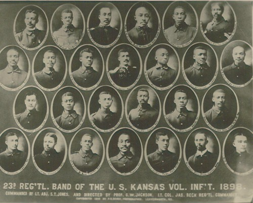 23rd Regimental Band, Kansas - Page