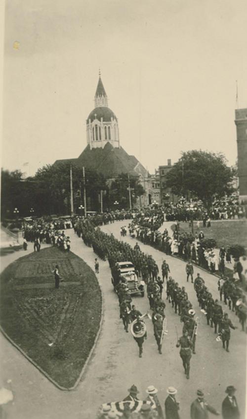 35th Division parade, Topeka, Kansas - Page