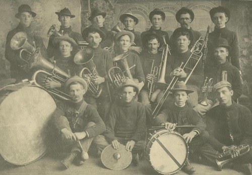 Band, Valley Falls, Kansas - Page