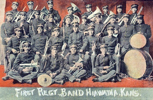 1st Regimental Band, Hiawatha, Kansas - Page