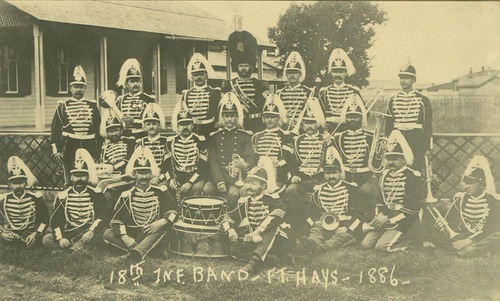 18th Infantry Band, Fort Hays, Kansas - Page