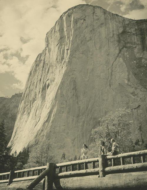 El Capitan in Yosemite National Park - Page