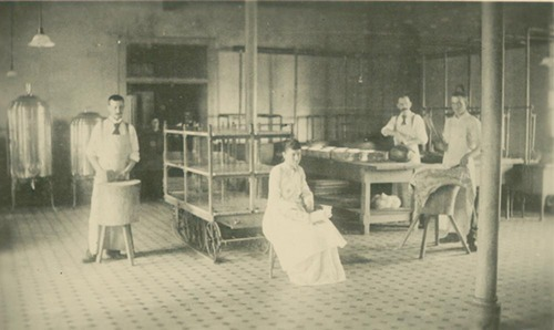 Kitchen workers, Topeka State Hospital - Page
