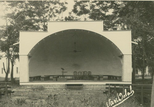 Band Shell, Anthony, Kansas - Page