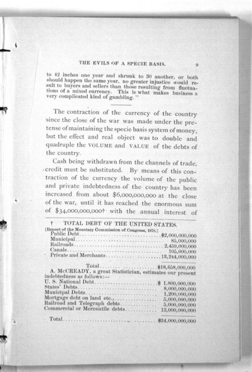 The Subject of Money Considered from the Standpoints of Law, Science, History, Reason. (Third Edition) - Page
