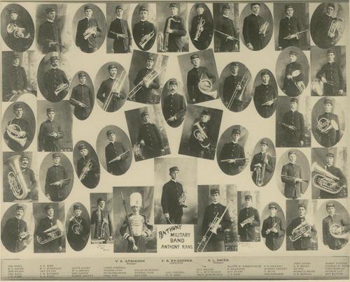 Anthony Military Band, Anthony, Kansas - Page