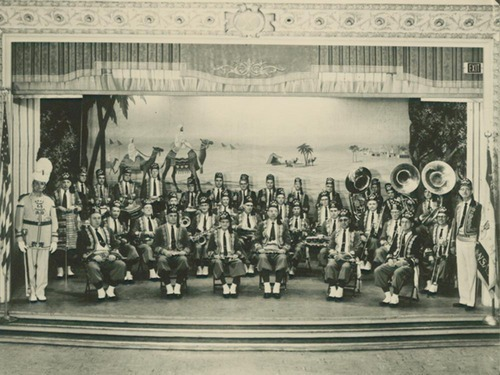 Arab Shrine Band, Topeka, Kansas - Page
