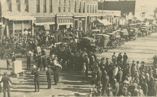 Armistice Day celebration, Clay Center, Kansas - Page