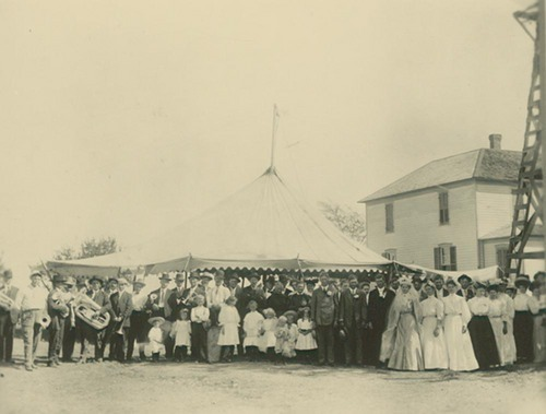 Wedding party, Ford County, Kansas - Page