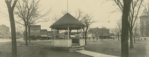 Bandstand, Garnett, Kansas - Page