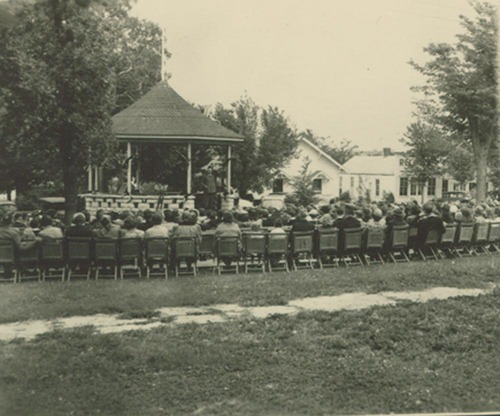Bandstand, Westmoreland, Kansas - Page