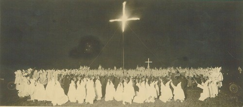 Ku Klux Klan cross burning - Page