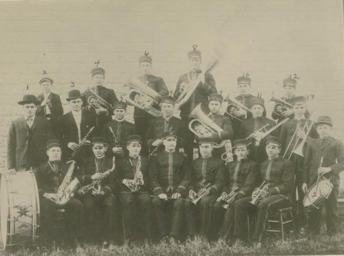 Bushton Band, Bushton, Kansas - Page