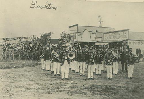 Bushton Town Band, Bushton, Kansas - Page