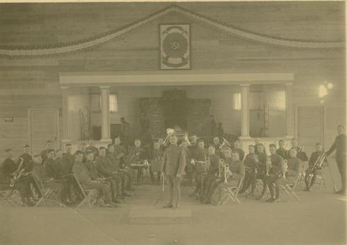 353rd Infantry Band, Camp Funston, Kansas - Page