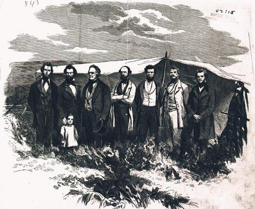 Free-State prisoners near Lecompton, Kansas Territory - Page