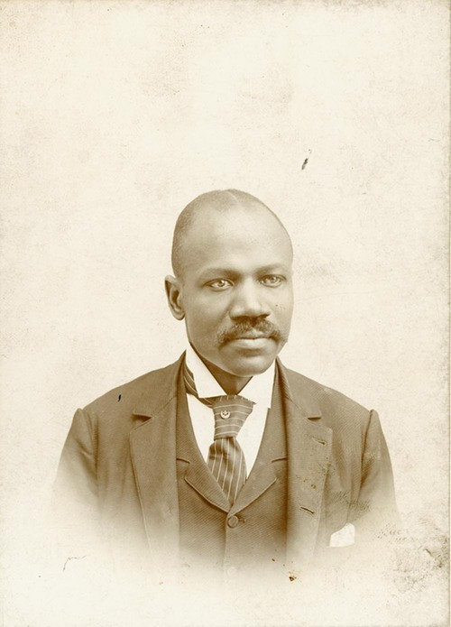 A. M. Thomas portrait - Page