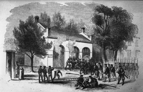 Storming of the engine house at Harpers Ferry - Page