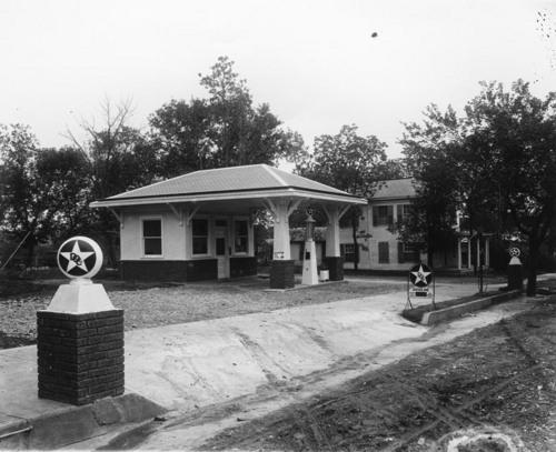 Service station in Alma, Kansas - Page
