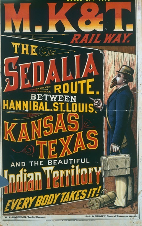 Missouri, Kansas & Texas Railway the Sedalia route... - Page