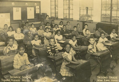 Second grade students at Monroe School, Topeka - Page