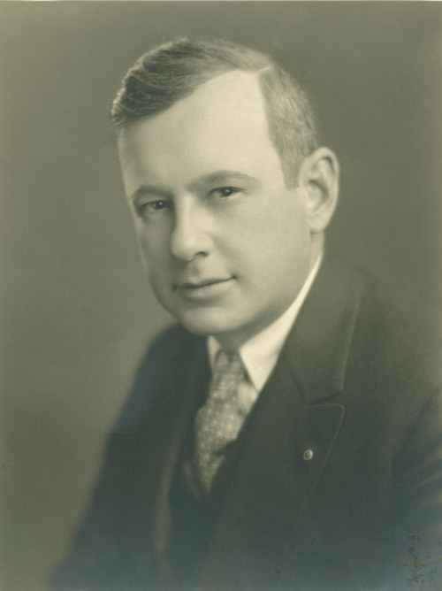 Alfred Mossman Landon as a young man - Page