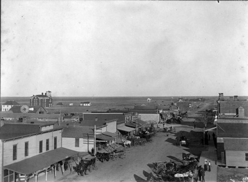 Long Street, Dighton, Kansas - Page