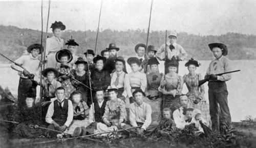 Fishing Party, Sugar Lake, Missouri - Page