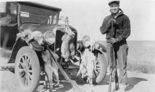 Rabbit hunt, Graham County, Kansas - Page