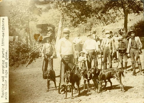 Hunting and camping, Jewell, Kansas - Page
