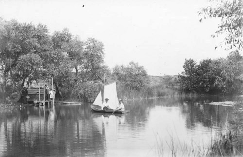 Boating scene - Page