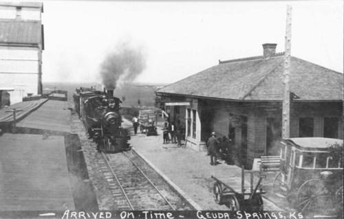 Geuda Springs Depot, Kansas - Page