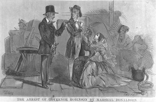 The arrest of Governor Robinson - Page