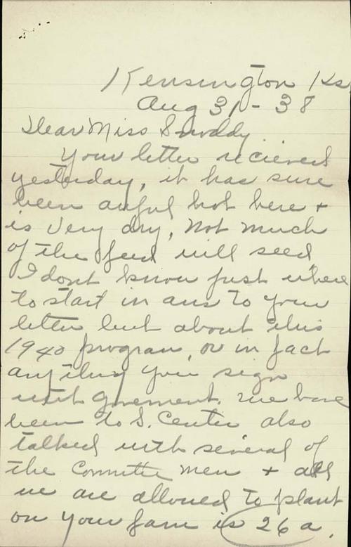 Edna Heim to Clarice Snoddy - Page