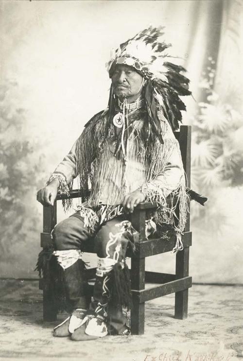 Chief Kack Kack - Page